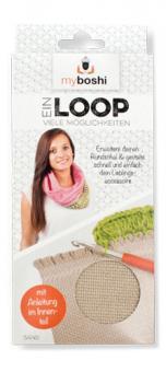 Loopschal zum Anhäkeln & Anstricken