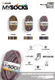 Farbkarte MYSOCKS Sockenwolle NEU
