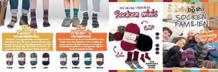 Flyer A7 Lieblingsfarben Sockenfamilien