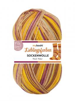 Lieblingsfarben Sockenwolle-VE= 5x100gr- 7114 Heidi