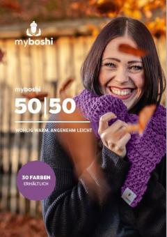 Plakat myboshi 50/50 2019