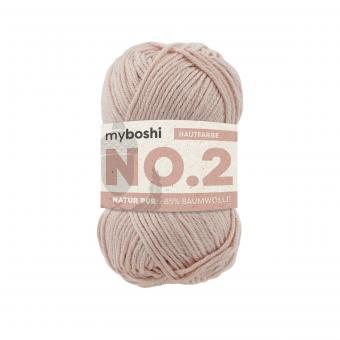 myboshi No.2 -Einzelknäuel- Hautfarbe