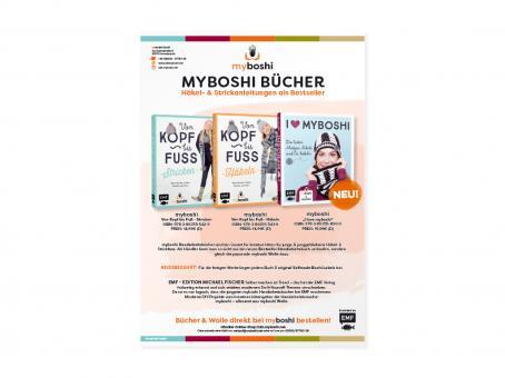 Infoblatt myboshi Bücher