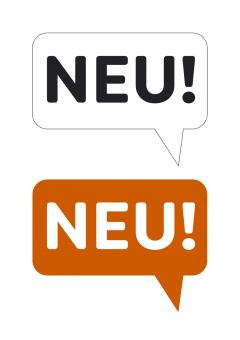 """""""""""""""NEU"""""""" Schild – Druckvorlage"""""""