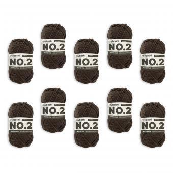 myboshi No.2 -VE 10 Knäuel- kakao