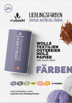 Plakat A2 myboshi Lieblingsfarben blauholz
