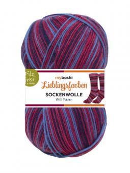 Lieblingsfarben Sockenwolle-VE= 5x100gr- 7132 Willi