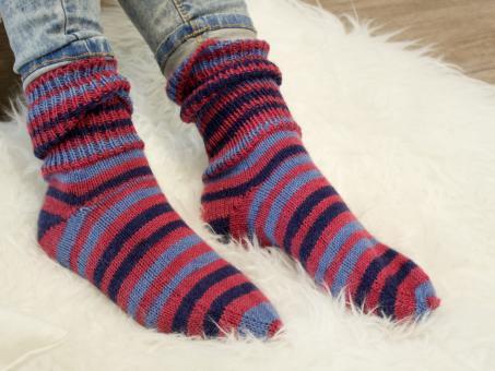 Neue Kollektion: Tragebilder Sockenwolle