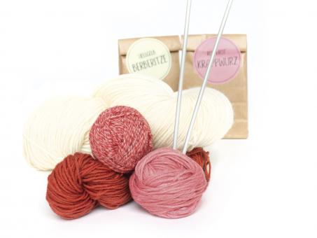 Sockenwolle zum Selberfärben 1VE (5 Stück) Natur